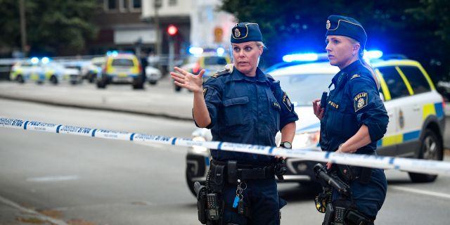 Ytterligare två personer misstänks för inblandning i trippelmord.  Johan Nilsson/TT / TT NYHETSBYRÅN