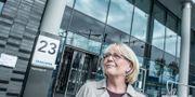 Finanslandstingrådet Irene Svenonius (M) vid Nya Karolinska sjukhuset i Solna Lars Pehrson/SvD/TT / TT NYHETSBYRÅN