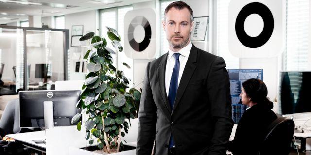 Richard Falkenhäll, valutastrateg på SEB. Magnus Sandberg