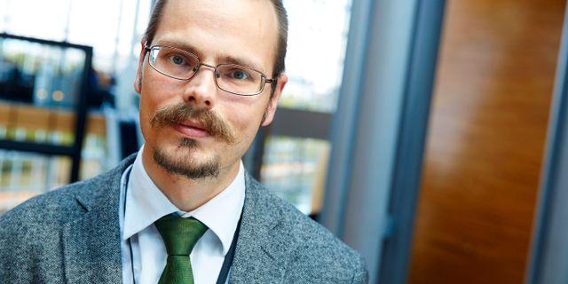 Max Andersson (MP). FREDRIK PERSSON / TT / TT NYHETSBYRÅN