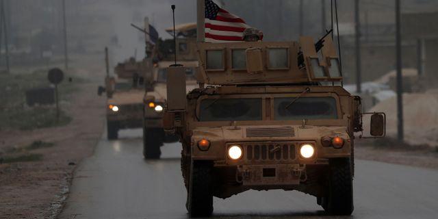 Amerikanska styrkor i Manbij i december förra året. DELIL SOULEIMAN / AFP