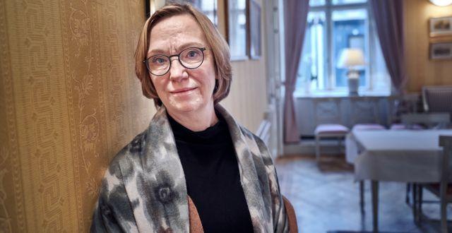 Christina Nyman.  Simon Rehnström/SvD/TT / TT NYHETSBYRÅN