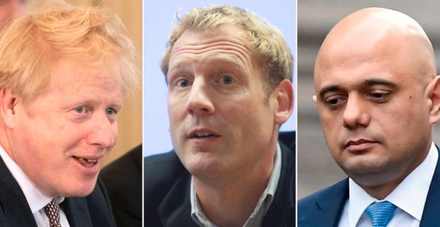 Boris Johnson / Mats Persson / Sajid Javid MATT DUNHAM, POOL /Richard Gardner/Rex/IBL Bildbyrå / RGA,  Sveriges Radio / TT