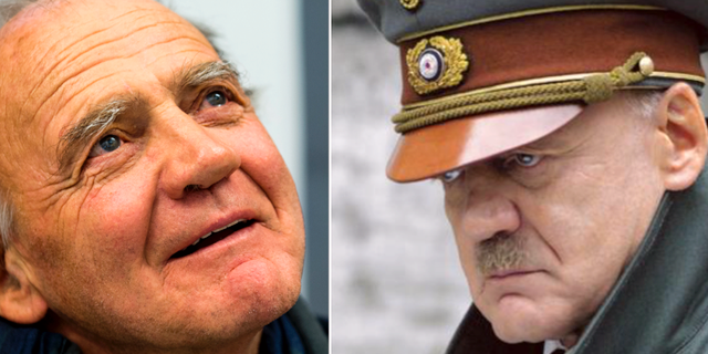 """Bruno Ganz/Ganz i rollen som Hitler i """"Undergången"""". TT/Constantin Film"""