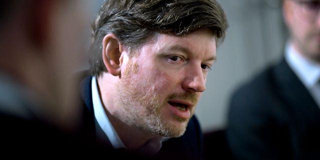 Martin Ådahl (C).  Janerik Henriksson/TT / TT NYHETSBYRÅN