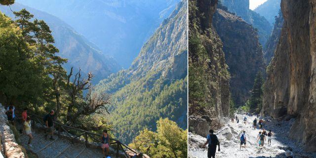 Som i en Tolkiensaga sträcker sig Samariaravinen mellan mäktiga berg och branta skogsväggar. Flickr / Istock