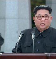 Kim Jong-Un REUTERS TV / TT NYHETSBYRÅN