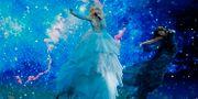 """Australiens Kate Miller-Heidke framför bidraget """"Zero gravity"""" JACK GUEZ / AFP"""