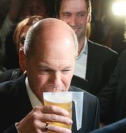 Olaf Scholz (SDP) och Armin Laschet (CDU) TT