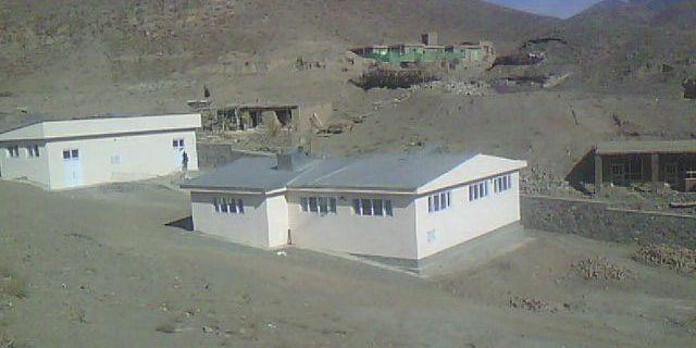 SAK-klinik i Afghanistan. Arkivbild. TT