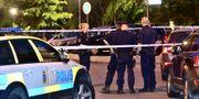 Polisen arbetar efter en skottlossning i Malmö. Johan Nilsson/TT / TT NYHETSBYRÅN