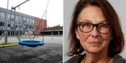 Barn- och skolnämndens nya ordförande Mia Honeth (L) TT och Martin Olson