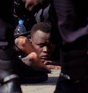 Migranter på Gran Canaria Javier Bauluz / TT NYHETSBYRÅN