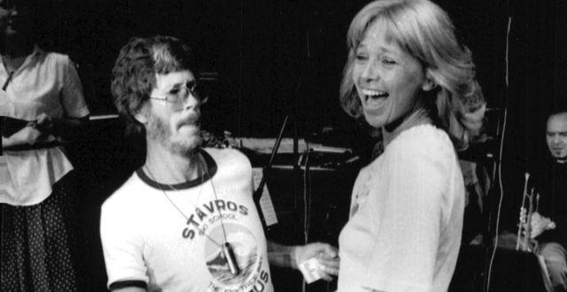 Leonard Eek och Anita Lindblom 1979/Arkivbild Göran Strandberg/TT / TT NYHETSBYRÅN