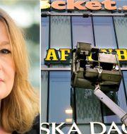 Åsa Linderborg, en av Dokumentets redaktörer/Schibstedhuset. TT