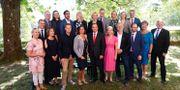 Regeringens ministrar, fotograferade 20180531. Pontus Lundahl/TT / TT NYHETSBYRÅN