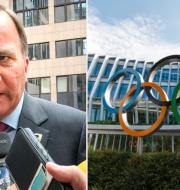 Statsminister Stefan Löfven är del av den svenska delegationen.  TT