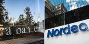Nedlagd bank i Töre i Kalix , Nordeas kontor i Stockholm. TT