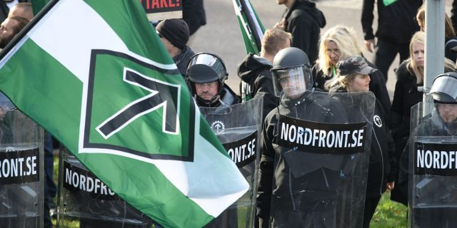 Demonstrationen i Göteborg. Adam Ihse/TT / TT NYHETSBYRÅN