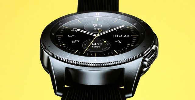 Äldre Galaxy Watch-modell LUCAS JACKSON / TT NYHETSBYRÅN