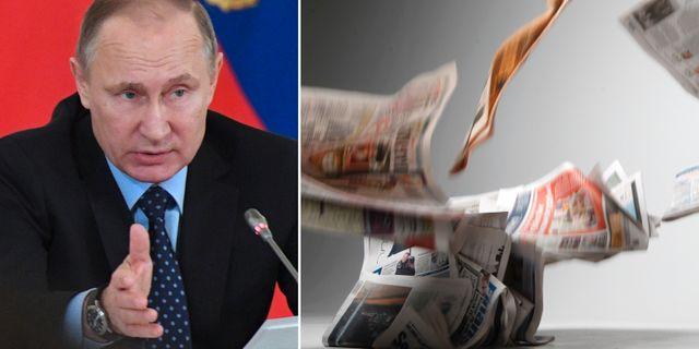 Lofven rustar mot falska nyheter