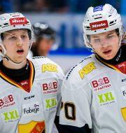 Jonathan och Marcus Davidsson under en match med Djurgården.  FREDRIK KARLSSON / BILDBYRÅN