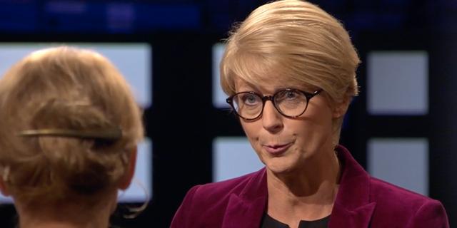 Elisabeth Svantesson (M) debatterade med Heléne Fritzon (S) i Agenda. SVT
