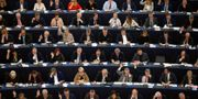 Omröstningen i EU-parlamentet. VINCENT KESSLER / TT NYHETSBYRÅN