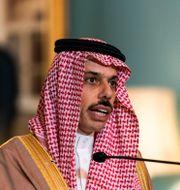 Saudiarabiens utrikesminister Faisal bin Farhan. Manuel Balce Ceneta / TT NYHETSBYRÅN