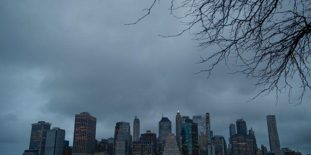 Manhattan i New York. John Minchillo / TT NYHETSBYRÅN