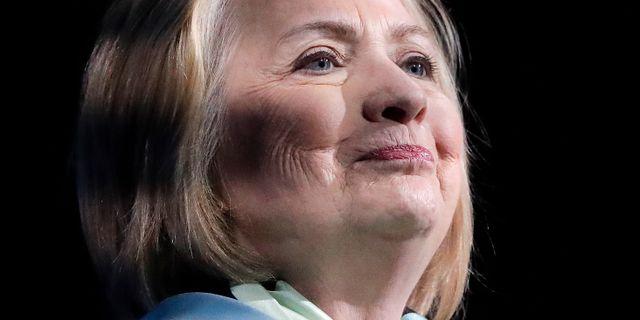 Hillary Clinton. Julie Jacobson / TT NYHETSBYRÅN