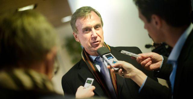 Arkivbild: Juristen Guy Lofalk var Saab Automobiles rekonstruktör i början av 2010-talet.  BJÖRN LARSSON ROSVALL / TT / TT NYHETSBYRÅN