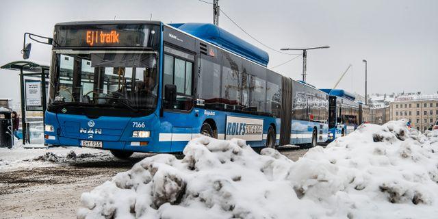 Bild från måndagen. Tomas Oneborg/SvD/TT / TT NYHETSBYRÅN