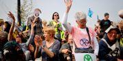 Demonstration med Extinction rebellion i april 2019. TOLGA AKMEN / AFP