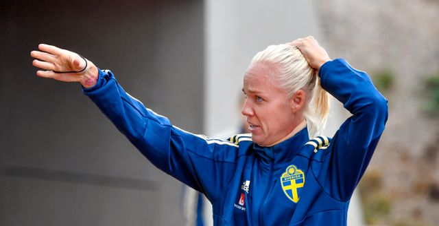 Caroline Seger Jonas Ekströmer/TT / TT NYHETSBYRÅN