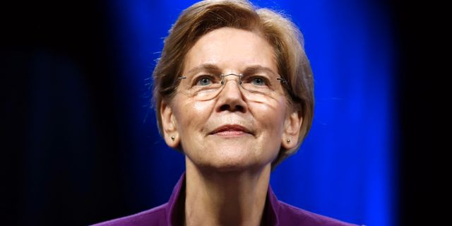 Elizabeth Warren. Jonathan Bachman / TT NYHETSBYRÅN