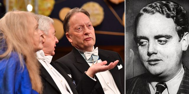 Akademiledamöterna Kristina Lugn, Bo Ralph och Horace Engdahl. Bode.  TT, Wikipedia.