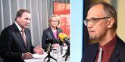 Löfven och Fritzson, Bjereld.  TT