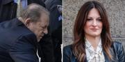 Weinstein i rätten / försvarsdvokaten Donna Ruto som ligger bakom strategin i försvaret. TIMOTHY A. CLARY / John Minchillo