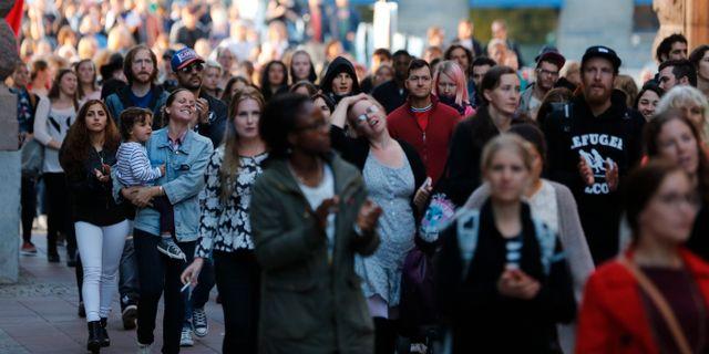 Slagsmal vid svenskarnas partis talt i almedalen