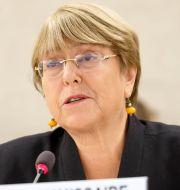 Michelle Bachelet.  Salvatore Di Nolfi / TT NYHETSBYRÅN