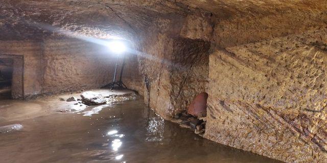 Bild från utgrävningarna.  Gebel el Silsila Project / TT NYHETSBYRÅN