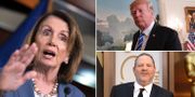 Nancy Pelosi/Donald Trump/Harvey Weinstein. TT