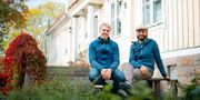 Olle Terje och Hugo  Olofsson.
