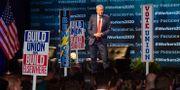 Bill de Blasio på ett konvent den 17 september. Tom Gralish / TT NYHETSBYRÅN