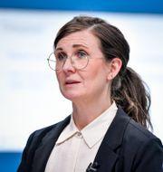 Jämställdhets- och bostadsminister Märta Stenevi (MP) den 8/4.  Jessica Gow/TT / TT NYHETSBYRÅN