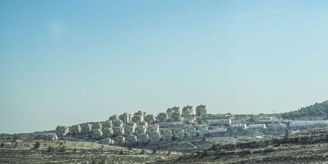 Israelisk bosättning på Västbanken TT