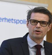 Fredrik Hallström, biträdande enhetschef för kontraterror på Säpo. Arkivbild. Janerik Henriksson/TT / TT NYHETSBYRÅN