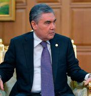 President Gurbanguly Berdymukhamedov  Alexei Druzhinin / TT NYHETSBYRÅN