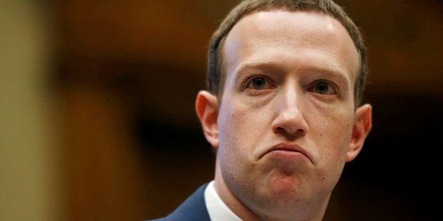 Facebooks grundare Mark Zuckerberg.  Leah Millis / TT NYHETSBYRÅN